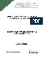 Manual de Politicas y Estandares en Seguridad Informatica Imder