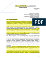 Década Infame Sergio Gamboa