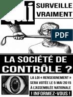 Contre la Loi Renseignement - Affiche 7