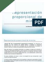 Proporcional de Minorias