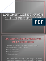 Cristales de Kryon y Terapia Floral