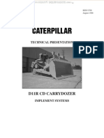 Caterpillar D11R CD Carrydozer Implement Systems Manual