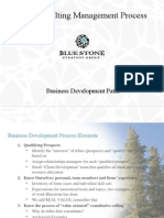 Blue Stone, Tim Keller, Business Development Plans