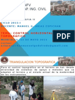 Control Horizontal Topografico