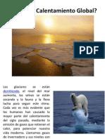 Definición Calentamiento Global