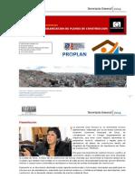 PROGRAMA DE REGULARIZACION DE PLANOS DE CONSTRUCCION