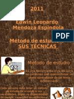 método de estudio y sus tecnicas