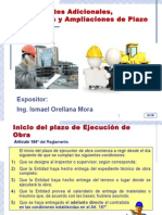 Adicionales Deductivos y Ampl de Plazo - CHICLAYO Oct.2014