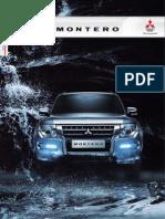 Catálogo Mitsubishi Montero