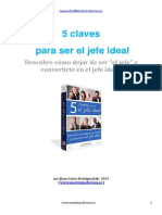 Booklet 5 Claves Para Ser El Jefe Ideal