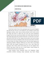 Bab II Geologi Regional