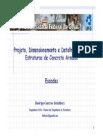Escadas-Projeto,Dimensionamento e Detalhamento.pdf