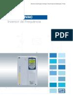 WEG Inversor de Frequencia Cfw701 Hvac 50035890 Catalogo Portugues Br