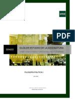Guía II Fª Política I