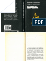 Barthes. Escritores, Intelectuales, Profesores