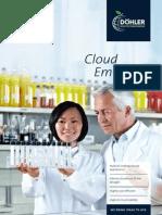 Doehler Flyer Cloud-Emulsions En