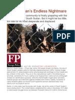 South Sudan's Endless Nightmare