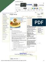 Veggie Wrap Recipe _ Easy Veggie Wrap Recipe _ Recipe for Veggie Wrap.pdf