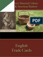 Storage - Baskets - English & American