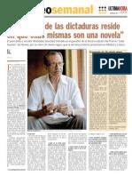 Antrevista a Alcibiades González Delvalle