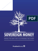Positive Money - Sovereign Money Creation - Paving the Way for a Sustainable Recovery