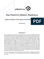 Positive Money - The Positive Money Proposal