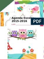 Agenda-curso-2015-2016.-Motivo-Búhos