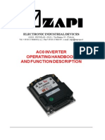 ZAPI AC-0 Manual Carretillas EP