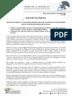 29-07-15 Boletín de Prensa