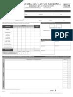 Reporte de Evaluacion Primaria 5 grado 2014 2015