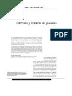 Television Y Consumo De Golosinas