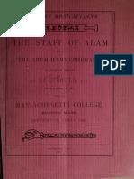 SRIA - The Staff of Adam (1887) (S.C. Goul)