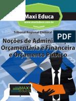 08 Nocoes de Administracao Orcamentaria e Financeira e Orcamento Publico