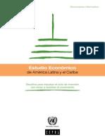 Estudio Económico de América Latina y el Caribe 2015 de Cepal