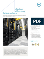 Dell Appassure Backup Replication and Recovery Evaluators Guide Technicalbrief 24350