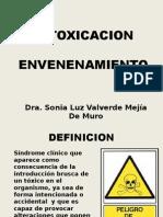 Semana 14 Intoxicaciones.2013