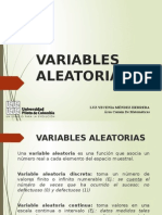 Variables Aleatorias