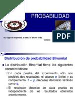 Distribuciones de Probabilidad Discretas1