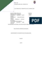 Análisis Del Periodo Formativo en La Sierra Sureña DDDDFDFDF