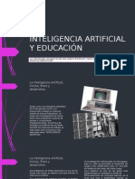 Inteligencia Artificial y Educación