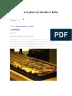 Matambre a La Pizza Tiernizado En