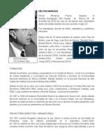 Héctor Mendoza,Biografía