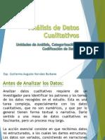 Análisis de Datos en forma cualitativa