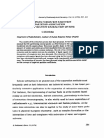 THE COMPLEX FORMATION-PARTITION AND PARTITION-ASSOCIATION MODELS OF SOLVENT EXTRACTION OF IONS
