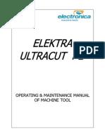 UltraCut Operation & Maintenance Manual