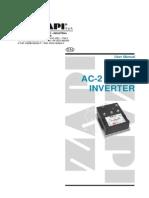 ZAPI AC-2 Manual