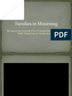 families in mourning