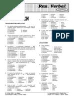 RV  12.3  Examen de Razonamiento Verbal