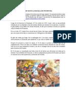 24 de Mayo La Batalla de Pichincha