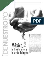 México, la frontera sur y la crisis del agua